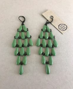 weaving like ceramic drop set for XL earring
